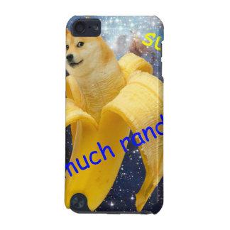 banana   - doge - shibe - espaço - uau doge capa para iPod touch 5G