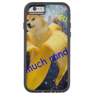 banana   - doge - shibe - espaço - uau doge capa tough xtreme para iPhone 6