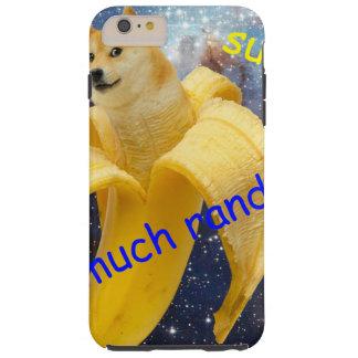 banana   - doge - shibe - espaço - uau doge capas iPhone 6 plus tough