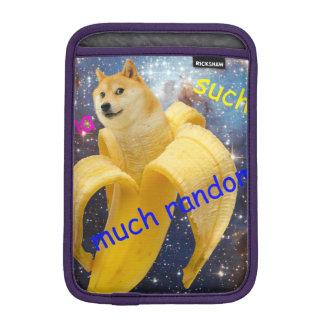 banana   - doge - shibe - espaço - uau doge luva para iPad mini
