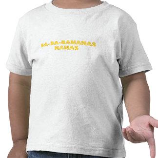 Bananas da criança OG Camiseta