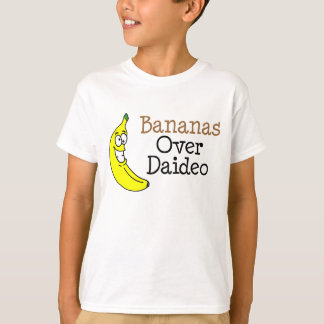 Bananas sobre Daideo Camiseta