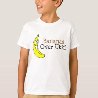 Bananas sobre Ukki Camiseta