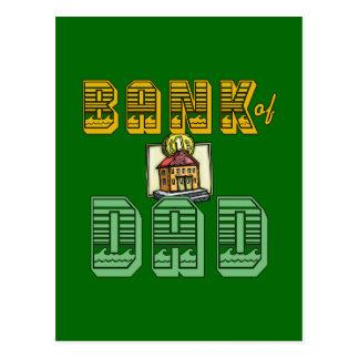 Banco de produtos do dia dos pais do pai cartão postal