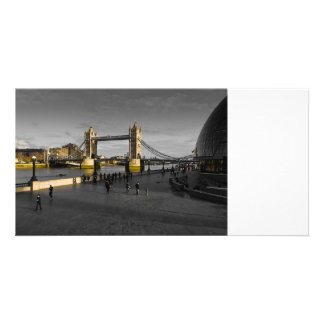 Banco sul Londres Cartões Com Fotos Personalizados