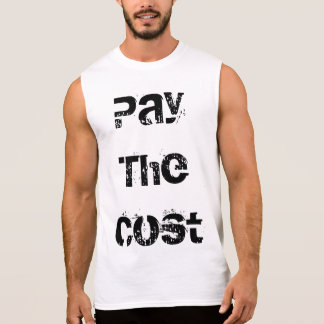 "Banda da trilha sete ""pagamento t-shirt do custo"" regata"