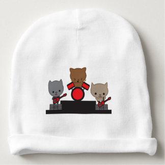Banda de Kawaii do gato do gatinho Gorro Para Bebê