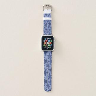 Banda de relógio azul de Apple da estrela do mar