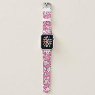 Banda de relógio bonito de Apple do coelho de