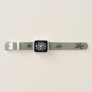 Banda de relógio de Apple da areia da praia da