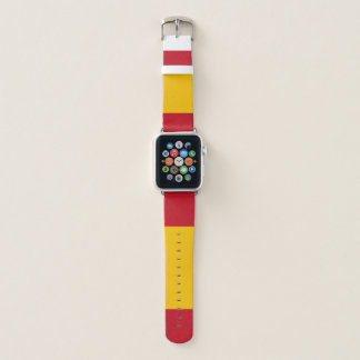 Banda de relógio de Apple da bandeira da espanha