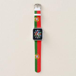 Banda de relógio de Apple da bandeira de Portugal
