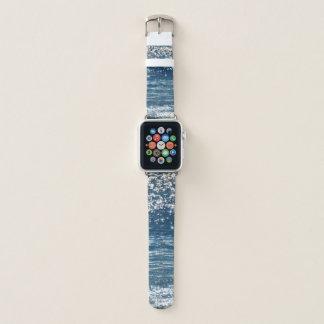 Banda de relógio de Apple das ondas de oceano