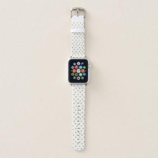 Banda de relógio de Apple do brilho do ouro do