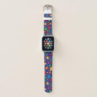 Banda de relógio de Apple do impressão de Meeple