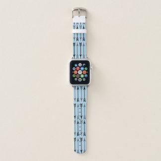 Banda de relógio de Apple do teste padrão da seta
