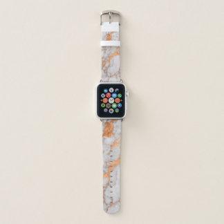 Banda de relógio de cobre de Apple do ouro do