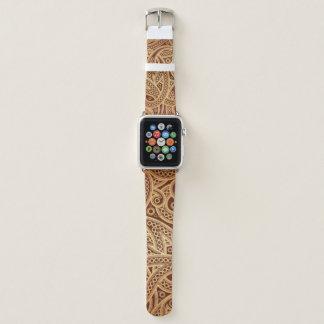 Banda de relógio marroquina de Paisley Apple do