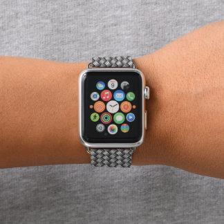 Banda de relógio metálica de Apple do olhar do