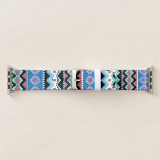 Banda de relógio tribal colorida de Apple do teste
