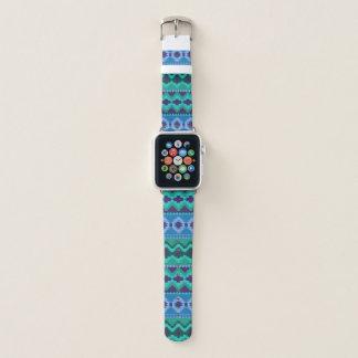 Banda de relógio tribal na moda de Apple do teste