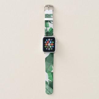 Banda de relógio tropical de Apple do impressão da
