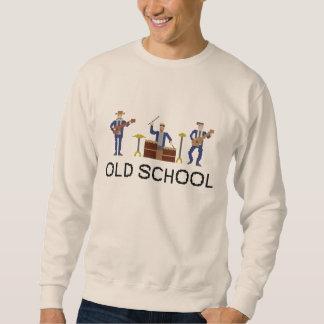 Banda de velha escola - camisola moletom