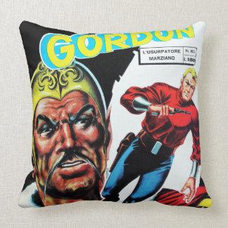 Banda desenhada da ficção científica do vintage travesseiro
