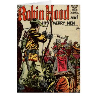 Banda desenhada de Robin Hood Cartoes