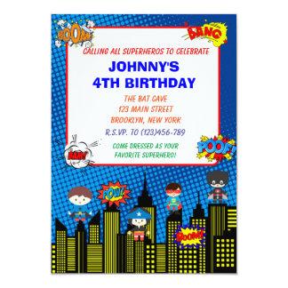 Banda desenhada dos convites | do aniversário do