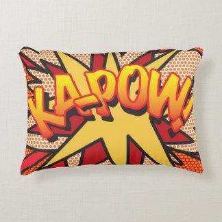Banda desenhada KA-POW! coxim do travesseiro do Almofada Decorativa
