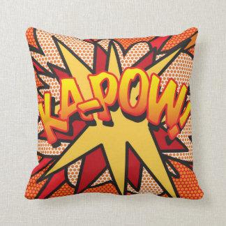 Banda desenhada KA-POW! Travesseiros De Decoração