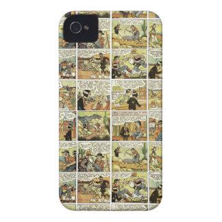 Banda desenhada velha capa para iPhone 4 Case-Mate