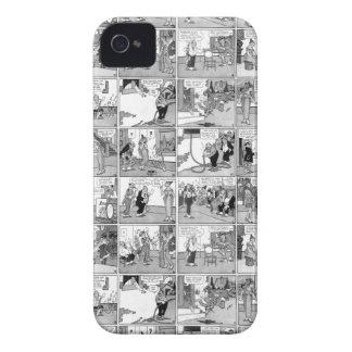 Banda desenhada velha capas para iPhone 4 Case-Mate