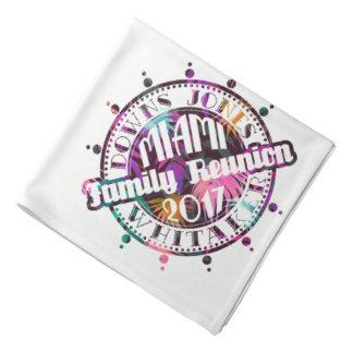 Bandana 2017 oficial de Miami da reunião de DJW