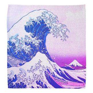 Bandana A grande onda fora de Kanagawa
