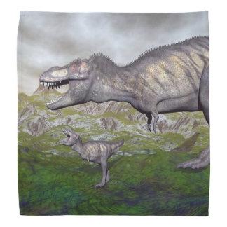 Bandana A mãe do dinossauro do rex do tiranossauro e o