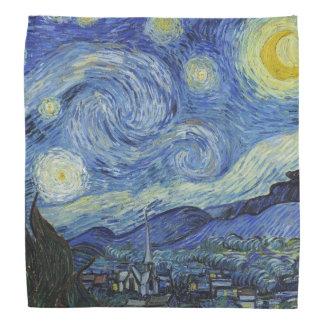 Bandana A noite estrelado por Van Gogh