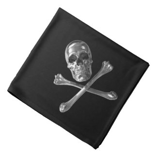 Bandana alegre do crânio de Roger