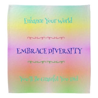 Bandana Arco-íris Pastel do orgulho do #LGBTQA que abraça