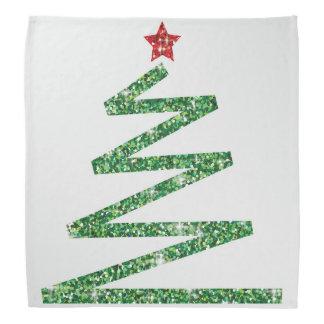 Bandana Árvore de Natal do brilho