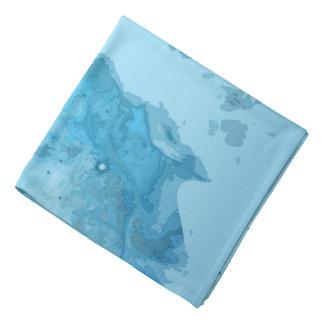 Bandana azul brilhante da nebulosa