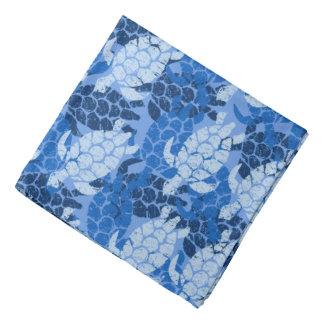 Bandana Azul do Hawaiian da tartaruga de mar de Honu Aloha