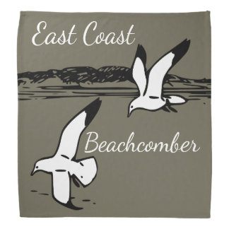 Bandana Bandanna do Beachcomber da costa leste da praia da