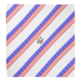 Bandana Bandeira das listras dos Estados Unidos