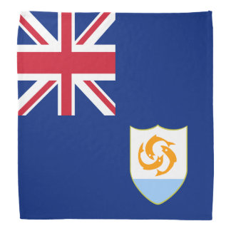 Bandana Bandeira de Anguilla