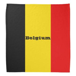 Bandana Bandeira de Bélgica