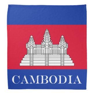 Bandana Bandeira de Cambodia