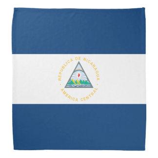 Bandana Bandeira de Nicarágua