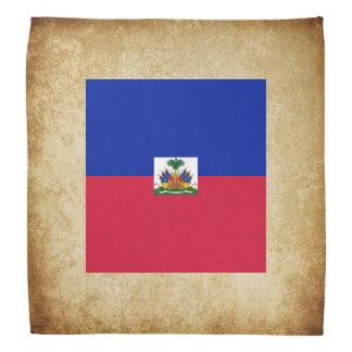 Bandana Bandeira dourada de Haiti
